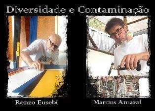 """""""DIVERSIDADE E CONTAMINAÇÃO"""": A RIO DE JANEIRO LA MOSTRA BIPERSONALE DI RENZO EUSEBI E MARCUS AMARAL"""