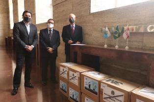 IL MUNICIPIO DI SAN PAOLO RICEVE UNA DONAZIONE DI DISPOSITIVI DI PROTEZIONE MEDICI E OSPEDALIERI DA SAN MARINO