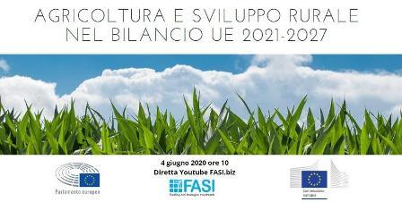 AGRICOLTURA E AGROALIMENTARE: DOMANI LA CONFERENZA IN STREAMING CON GLI EUROPARLAMENTARI ITALIANI