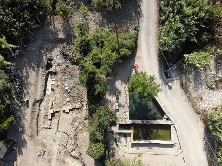 SANTUARIO DI EPOCA ROMANA SOMMERSO: LA SORPRENDENTE SCOPERTA DEL TEAM ARCHEOLOGICO INTERNAZIONALE A SIENA