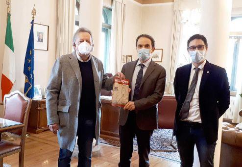 Belluno: l'Abm incontra il nuovo prefetto Sergio Bracco