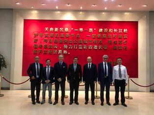 CHONGQING: MISSIONE DEL CONSOLE GENERALE BILANCINI A CHENGDU