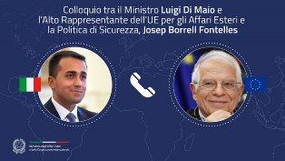 LIBIA E MEDITERRANEO: COLLOQUIO DEL MINISTRO DI MAIO CON L'ALTO RAPPRESENTANTE UE BORRELL