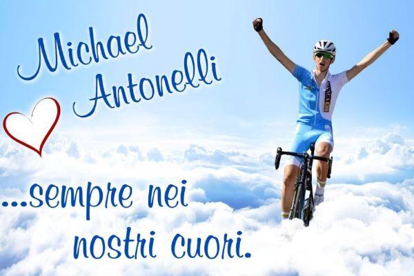 San Marino: Comites in lutto per la scomparsa del ciclista Micheal Antonelli