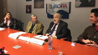 PIER VIRGILIO DASTOLI CON +EUROPA A BRUXELLES SULLA CONFERENZA SUL FUTURO DELL'EUROPA