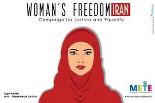 """""""WOMAN'S FREEDOM IRAN"""": DOMANI LA PRESENTAZIONE DELLA CAMPAGNA A PALERMO"""