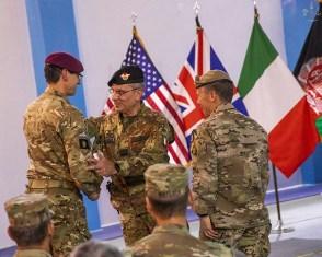 AFGHANISTAN: IL GENERALE CAMPOREALE TERMINA IL MANDATO DA NUMERO DUE DELLA NATO