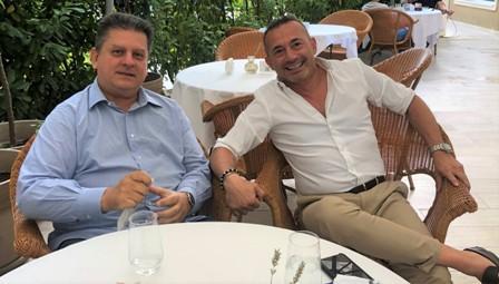 MODERNO (MAIE) INCONTRA IL PRESIDENTE DI CONFINDUSTRIA ROMANIA BERTOLA