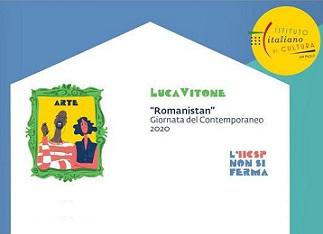 """""""ROMANISTAN"""": IL PROGETTO DI LUCA VITONE IN OTTOBRE A SAN PAOLO"""