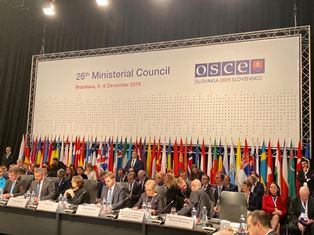 IL VICEMINISTRO SERENI ALL'OSCE: A FAVORE DI UN MULTILATERALISMO EFFICACE