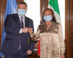 SICUREZZA TRA ITALIA E LITUANIA: LAMORGESE INCONTRA AVAKOV