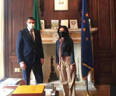 New York: Alderisi (Fi) incontra il nuovo Console Fabrizio Di Michele