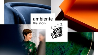 AMBIENTE THE SHOW: LA CNA ALLA FIERA DEI BENI DI CONSUMO DI FRANCOFORTE