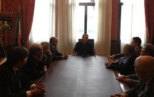 LE ASSOCIAZIONI DI ESULI GIULIANO-DALMATI INCONTRANO IL PRESIDENTE DEL CONSIGLIO REGIONALE VENETO