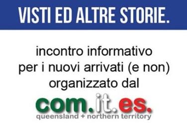 VISTI ED ALTRE STORIE: A BRISBANE L'INCONTRO INFORMATIVO PROMOSSO DAL COMITES