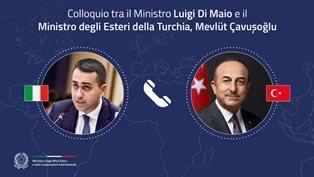 ITALIA – TURCHIA: COLLOQUIO TRA DI MAIO E ÇAVUSOGLU