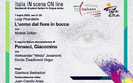 """""""ITALIA IN SCENA ON LINE"""": AL VIA A BELGRADO LA RASSEGNA TEATRALE DELL'IIC"""