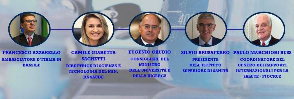 Italia-Brasile: concluso seminario sulla collaborazione scientifica per la lotta al Covid-19