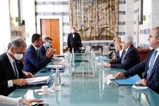 DI MAIO INCONTRA ALLA FARNESINA IL MINISTRO LIBANESE NASSIF HITTI