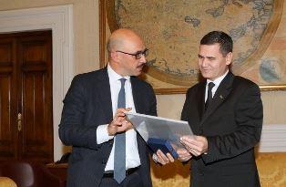 IL MINISTRO DELL'INTERNO DEL TURKMENISTAN AL VIMINALE