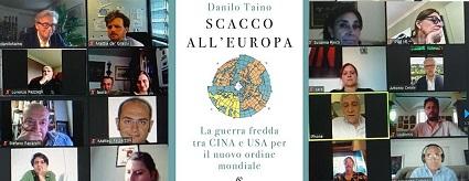 """RISCHIO DI SCACCO CINESE ALL'EUROPA: VIDEOCONFERENZA DI """"ESPERIA"""" CON TAINO E TAJANI"""