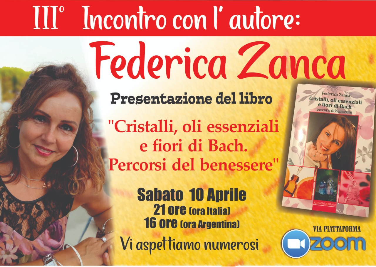 """""""Incontro con l'Autore"""": la comunità italiana di Mar del Plata a colloquio con Federica Zanca"""