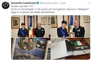 SAMANTHA CRISTOFORETTI: UN'ECCELLENZA ITALIANA DA RISPETTARE, CON O SENZA LE STELLETTE – di Alessandro Butticè