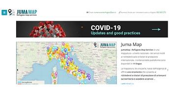 """CURA ITALIA E """"JUMA MAP"""": NUOVI CONTENUTI SUL PORTALE INFORMATIVO PER STRANIERI LANCIATO DA UNHCR E ARCI"""