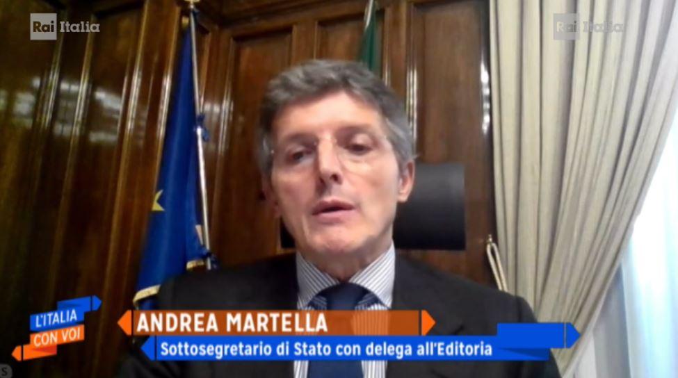 MARTELLA: RILANCIO DELL'EDITORIA ANCHE ALL'ESTERO
