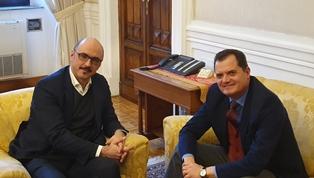 CITTADINANZA: PORTA (PD) INCONTRA IL VICE MINISTRO DELL'INTERNO MATTEO MAURI