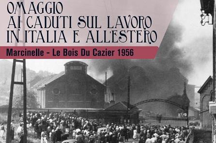 MARCINELLE: A REGGIO EMILIA L'OMAGGIO AI CADUTI SUL LAVORO IN ITALIA E ALL