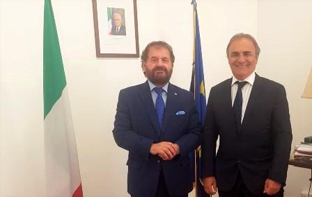 ASSISTENZA ALLE COMUNITÀ ITALIANE IN SUDAMERICA: MERLO RICEVE ALLA FARNESINA SANGREGORIO (USEI)