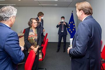 IL VICE MINISTRO SERENI INCONTRA IL COMMISSARIO UE VÁRHELYI