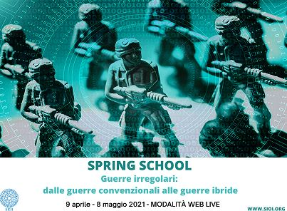 Guerre irregolari: la SIOI presenta la Spring School