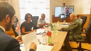 DIFESA: IL SOTTOSEGRETARIO TOFALO A COLLOQUIO CON OMOLOGO INGLESE