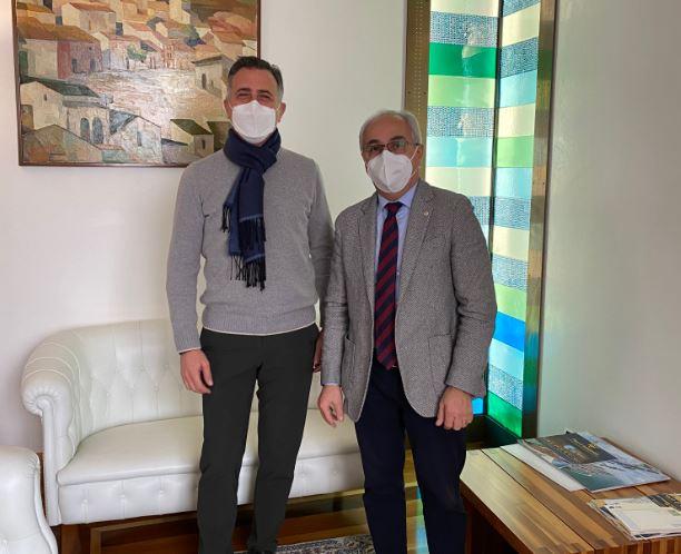 Treviso: il Presidente della Camera di Commercio incontro il già Presidente della CCI Los Angeles Serragiotto