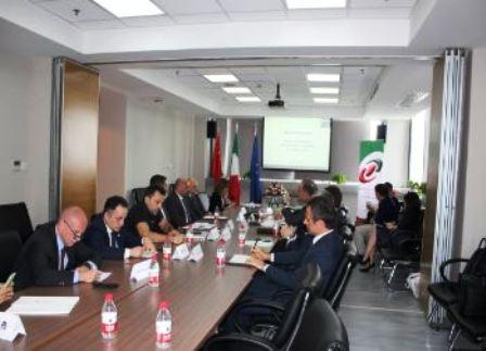 WEBINAR PER LA COMUNITÀ D'AFFARI ITALIANA IN CINA CON AMBASCIATA E CCI