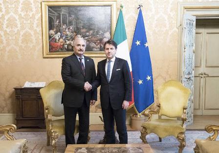 LIBIA: CONTE INCONTRA IL GENERALE HAFTAR