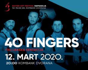 """40 FINGERS"": L'IIC BELGRADO PORTA LA MUSICA ITALIANA AL XXI GUITAR ART FESTIVAL"