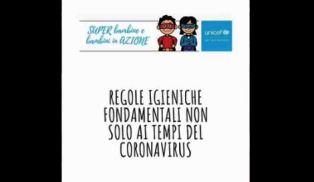 UNICEF: STOP ALLA DISINFORMAZIONE SUL CORONAVIRUS