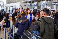 OIM E UNHCR: SOSPESI I REINSEDIAMENTI DEI RIFUGIATI