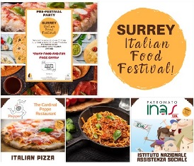 L'INAS CISL UK AL SURREY ITALIAN FOOD FESTIVAL