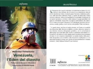 """""""VENEZUELA, L'EDEN DEL DIAVOLO"""": ESCE IN ITALIA IL LIBRO DENUNCIA DI MARINELLYS TREMAMUNNO"""