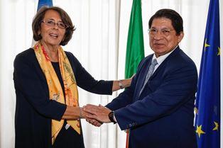 IL VICE MINISTRO SERENI A COLLOQUIO CON IL MINISTRO DEGLI ESTERI DEL NICARAGUA