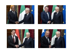 CILE, NIGER, BULGARIA E TAJIKISTAN: NUOVI AMBASCIATORI DA MATTARELLA