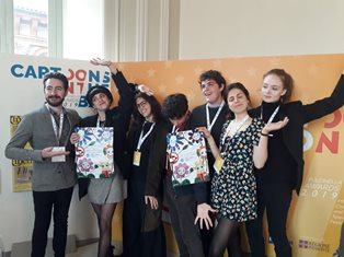 "UNICEF ITALIA A ""CARTOONS ON THE BAY 2019"""
