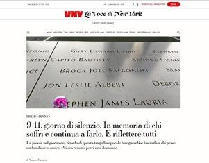9-11: GIORNO DI SILENZIO - di Stefano Vaccara