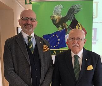 FRANCO BUCARELLI SOCIO BENEMERITO DELLA SEZIONE DI BRUXELLES-UNIONE EUROPEA DELL'ASSOCIAZIONE NAZIONALE FINANZIERI D'ITALIA