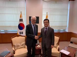 SEOUL: L'AMBASCIATORE FAILLA INCONTRA IL VICE MINISTRO CHO SEI-YOUNG