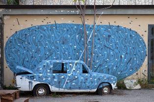 A MONTRÉAL I MURALES DELLO STREET ARTIST ITALIANO TELLAS